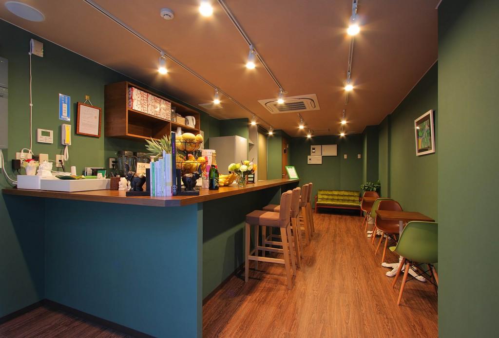 カフェ内装施工事例0010