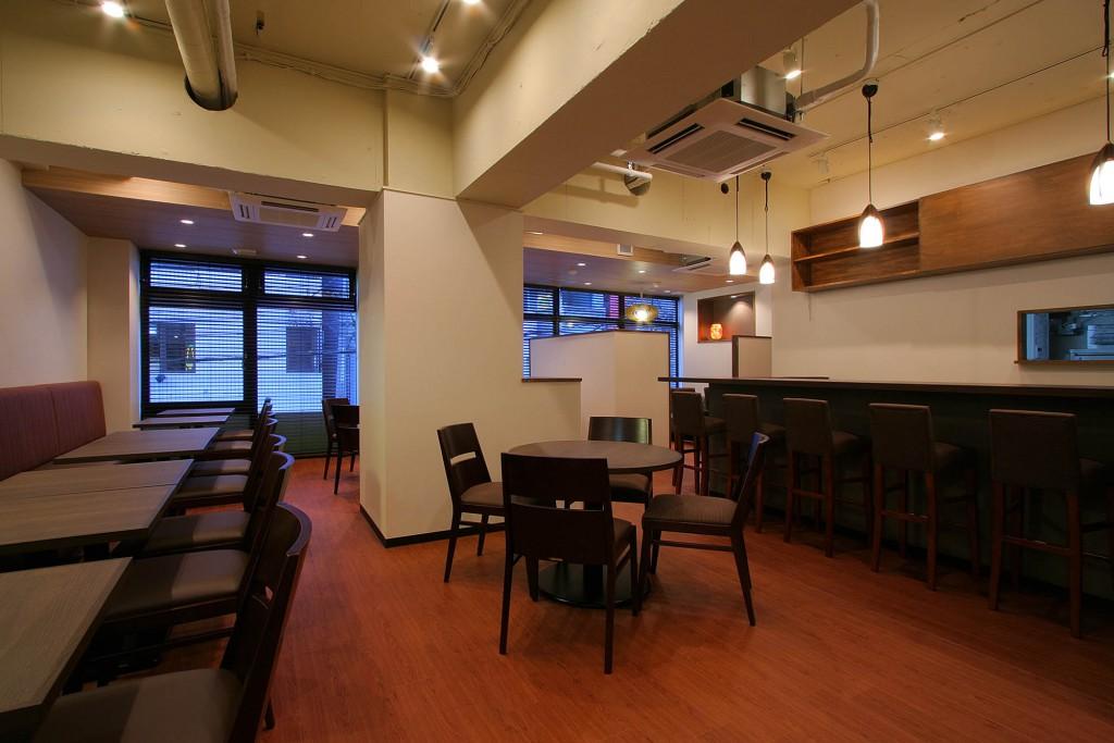 カフェ内装施工事例0060