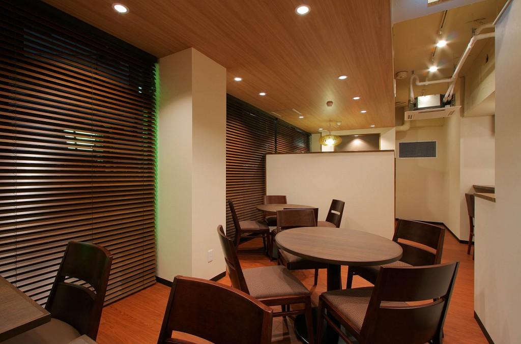 カフェ内装施工事例0040